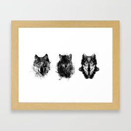 The Wolfpack Framed Art Print