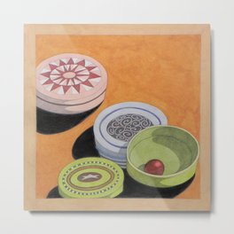 Small bowls n. 4 Metal Print