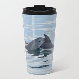 Baby Bottlenose Dolphin Travel Mug