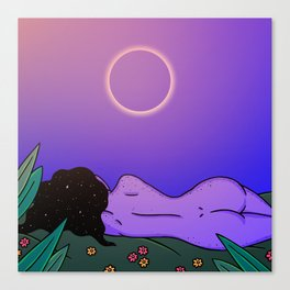 SUMMER ECLIPSE Canvas Print