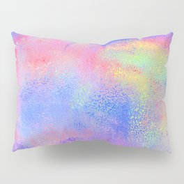 Where There's Life, There's Hope: Abstract Design Pillow Sham