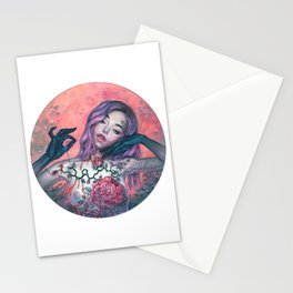 Embroidery Stationery Cards