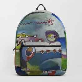 Suburban Maze Backpack