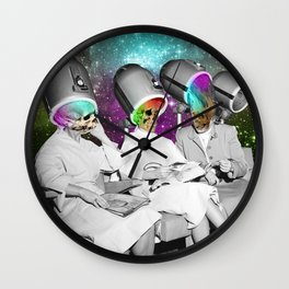 Hairdryers.  Wall Clock
