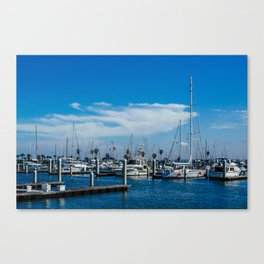 Beautiful day to sail Canvas Print
