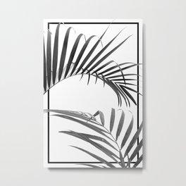 PALM I (B&W) Metal Print