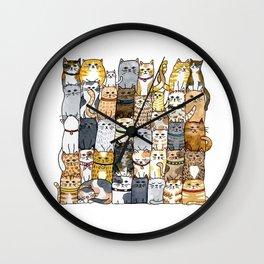 The Glaring Wall Clock