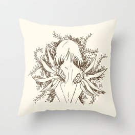 She, The ultimate Weapon Throw Pillow