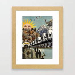 the midnight club Framed Art Print