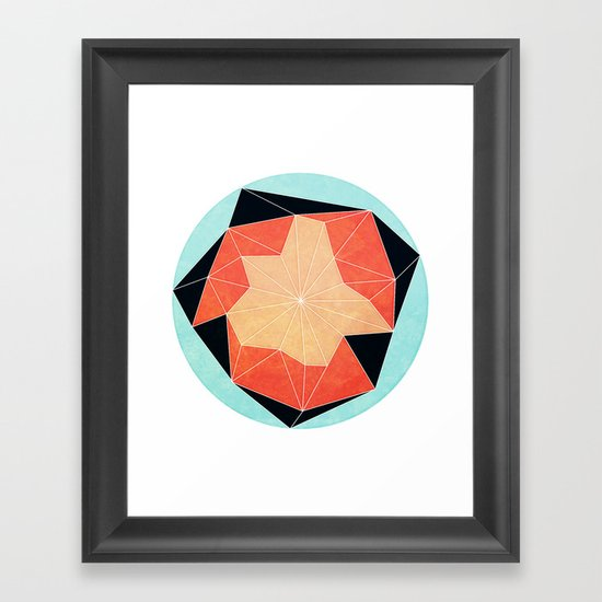 The Flower that Knew how to Grow Framed Art Print