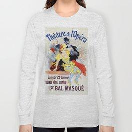 1897 Masquerade ball Paris Opera Long Sleeve T-shirt