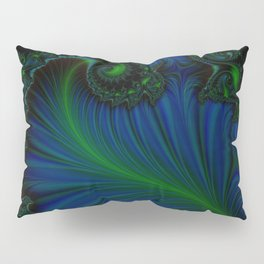 Fern Bleu Pillow Sham