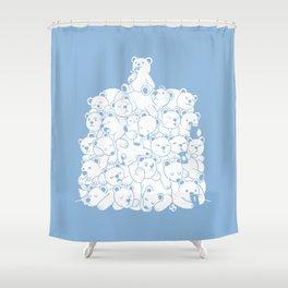 Bear T-Shirt Hibernation Kids Shower Curtain