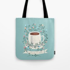A Cup Of Joy Tote Bag
