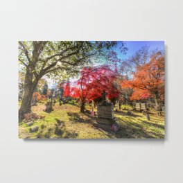 Sleepy Hollow Cemetery New York Metal Print