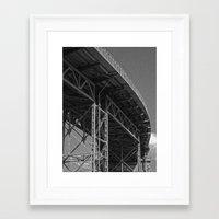 bridge Framed Art Prints featuring Bridge by Christophe Chiozzi