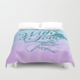 With love always Duvet Cover
