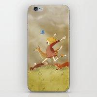 run iPhone & iPod Skins featuring Run! by Tona