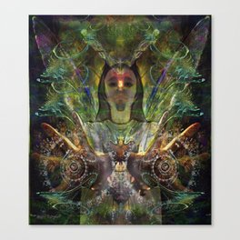 Color in Your Hands ~ The Luminarian Canvas Print