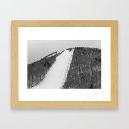 Ovation - the steepest trail in the East Framed Art Print