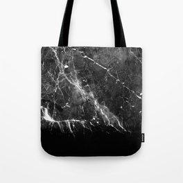 Black Gray Marble #1 #decor #art #society6 Tote Bag