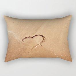 I ♥ beach Rectangular Pillow