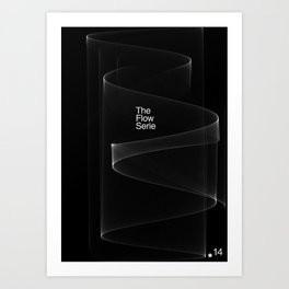 The Flow Series #14 Art Print