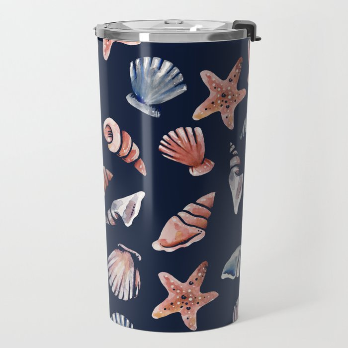 Sea Shell Ocean lover Travel Mug