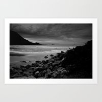 new zealand Art Prints featuring New Zealand by jemlan