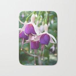 Flower clematis Bath Mat