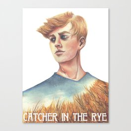 Catcher In The Rye Canvas Print