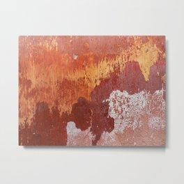Bleeding Gold Metal Print