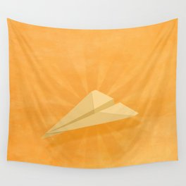Paper Airplane 116 Wall Tapestry