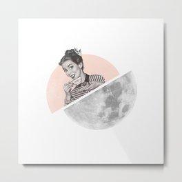 The Moon III Metal Print