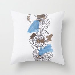 Spiral 3 Throw Pillow