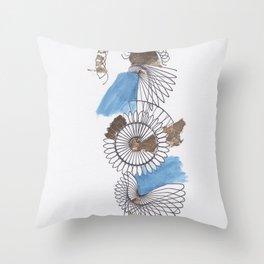 Spiral 3 Throw Pillow