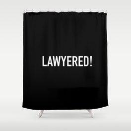 Lawyered Shower Curtain