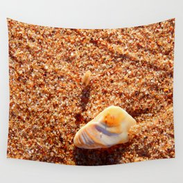 Sand Flea on the Beach Wall Tapestry