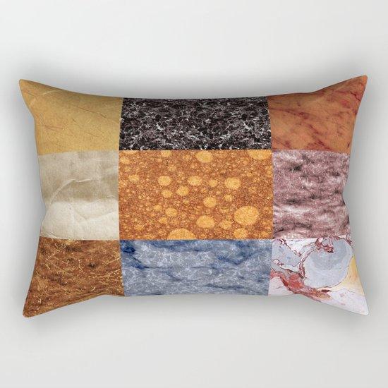 Abstract #473 Rectangular Pillow