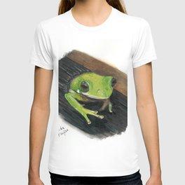 Peekaboo Tree Frog T-shirt
