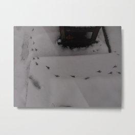 Cold winter - UK Metal Print