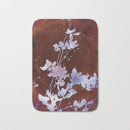 Flaming Flowers Bath Mat
