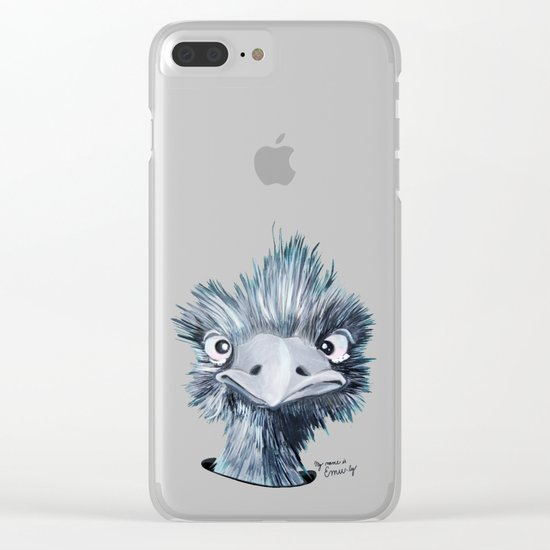 My name is EMU-ly Clear iPhone Case