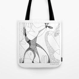 animorph 03 - giraffe Tote Bag