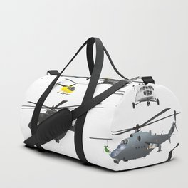 Multiple Helicopters Duffle Bag
