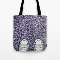 converse Tote Bags featuring Converse by LoR.