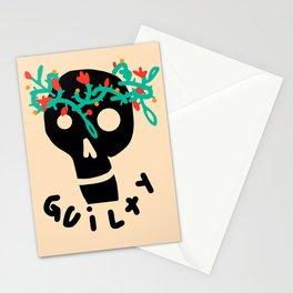 guilty tatt Stationery Cards