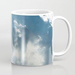 Breathtaking Sun Rays Dancing Through Spectacular Clouds Coffee Mug