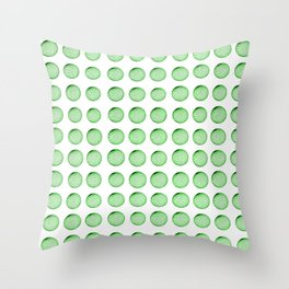 Little Balls (of various sizes) Throw Pillow