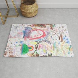 Children's art Rug